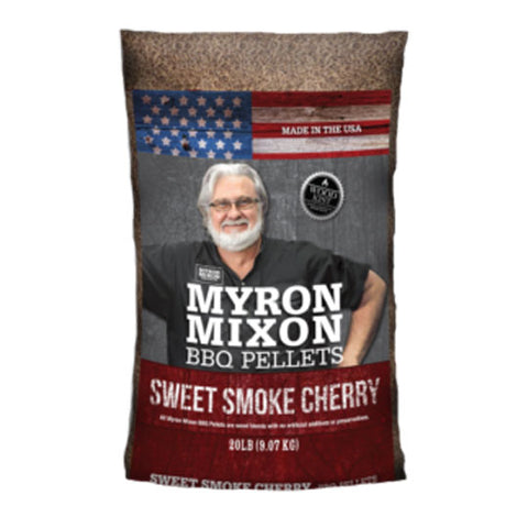 Myron Mixon BBQ Pellets Sweet Smoke Cherry 9kg - The Barbecue Company