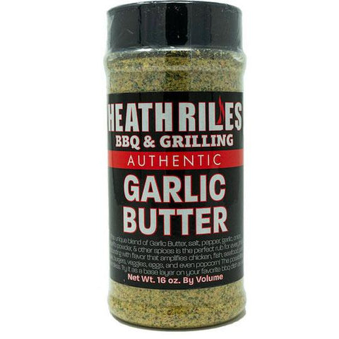 Heath Riles BBQ Garlic Butter Rub - The Barbecue Company