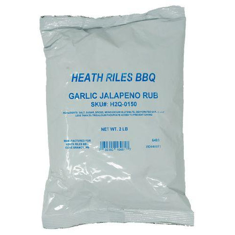 Heath Riles BBQ Garlic Jalapeno Rub 906g