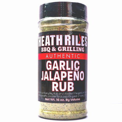Heath Riles BBQ Garlic Jalapeno Rub - The Barbecue Company