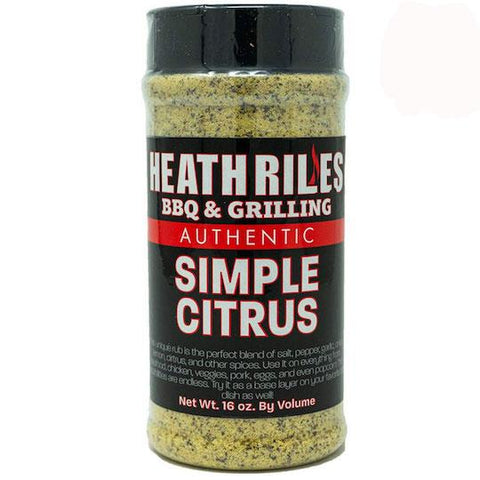 Heath Riles BBQ Simple Citrus Rub - The Barbecue Company