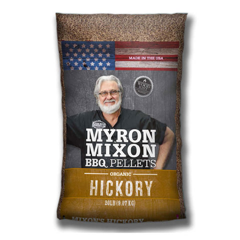 Myron Mixon BBQ Pellets Hickory 9kg - The Barbecue Company
