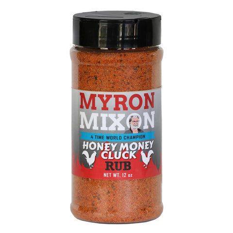 Myron Mixon Honey Money Cluck Rub 340g - The Barbecue Company