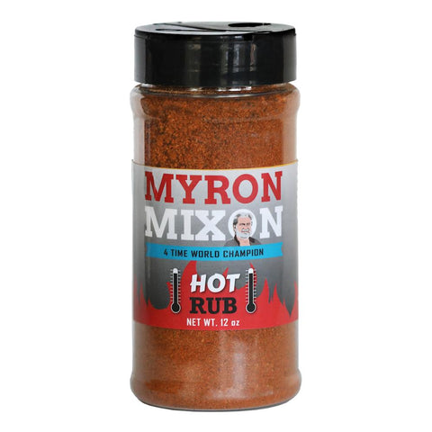 Myron Mixon Hot Rub 340g - The Barbecue Company