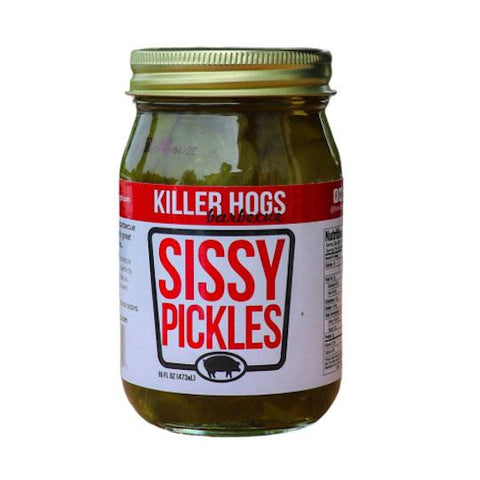 Killer Hogs Sissy Pickles - The Barbecue Company