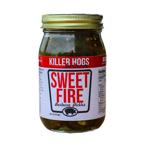 Killer Hogs Sweet Fire Pickles - The Barbecue Company