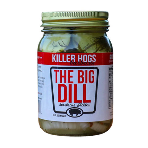Killer Hogs The Big Dill Pickles 473ml
