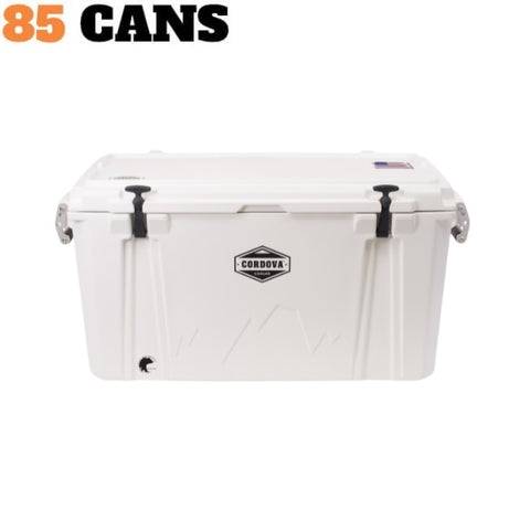 Cordova Cooler Large 100 White - The Barbecue Company