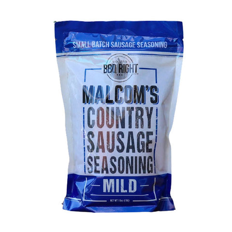 Malcolm's Country Sausage Seasoning Mild