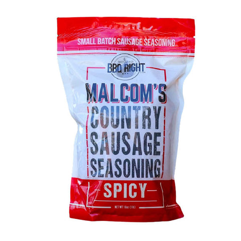 Malcolm's Country Sausage Seasoning Spicy