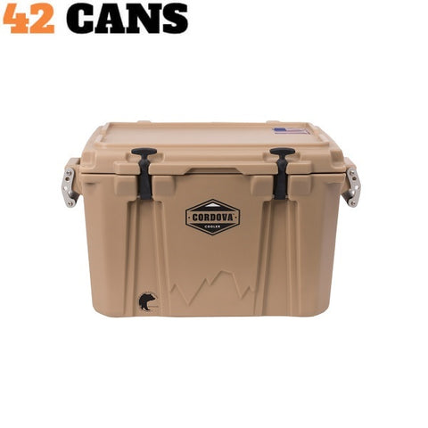 Cordova Cooler Medium 50 Sand - The Barbecue Company