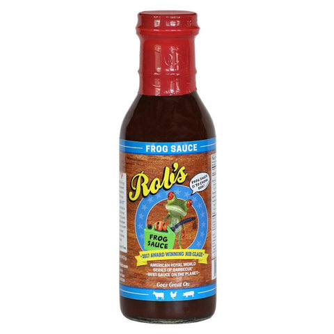 Rob's Frog Sauce 411g - The Barbecue Company