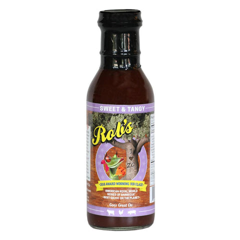 Rob's Sweet & Tangy Sauce 411g - The Barbecue Company