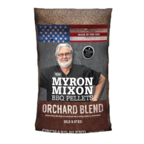Myron Mixon BBQ Pellets Orchard Blend 9kg - The Barbecue Company