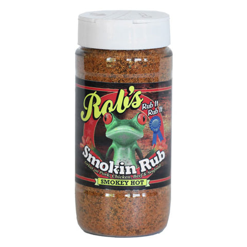 Rob's Smokin Rub Smokey Hot