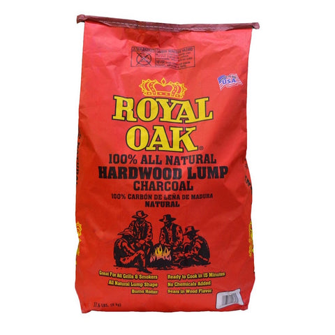 Royal Oak Hardwood Lump Charcoal 7kg - The Barbecue Company