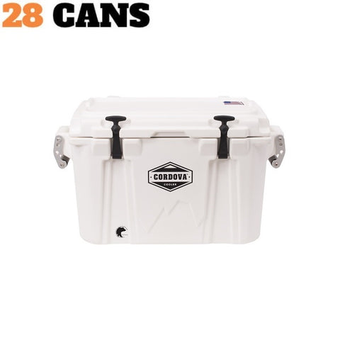 Cordova Cooler Small 35 White - The Barbecue Company