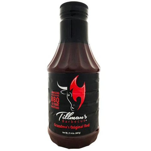 Tillmans Barbecue Grandmas Original Red - The Barbecue Company