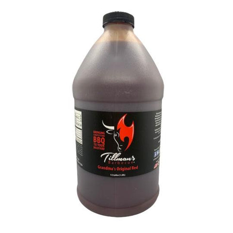 Tillmans Barbecue Grandmas Original Red 1.89L - The Barbecue Company