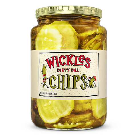 Wickles Dirty Dill Chips 710ml
