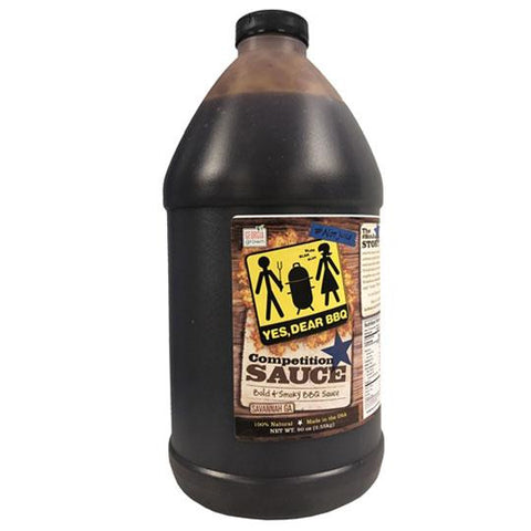 Yes Dear Competition BBQ Sauce 1.89L - The Barbecue Company