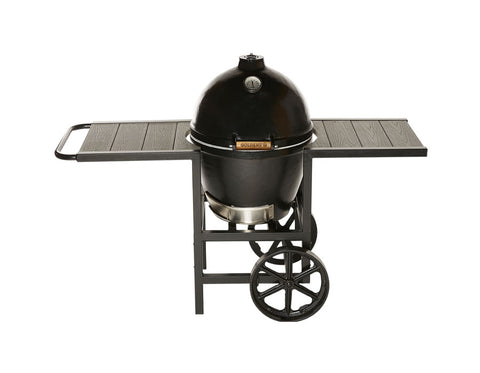 Goldens Cast Iron Cooker with Full Cart (20.5in) - The Barbecue Company
