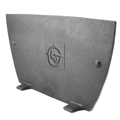 Goldens Cast Iron Firebox Divider Plate - The Barbecue Company