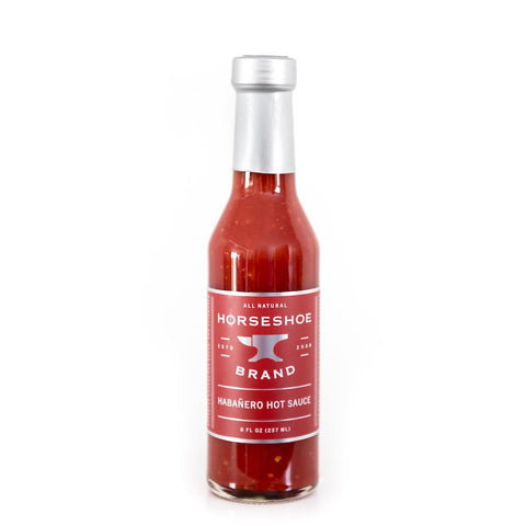 Horseshoe Brand Habanero Hot Sauce 237ml - The Barbecue Company