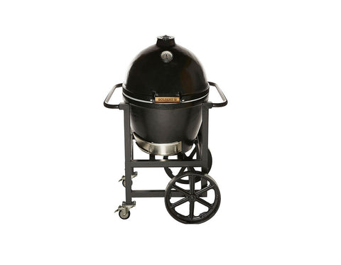 Goldens Cast Iron Cooker with Handle Cart (20.5in)