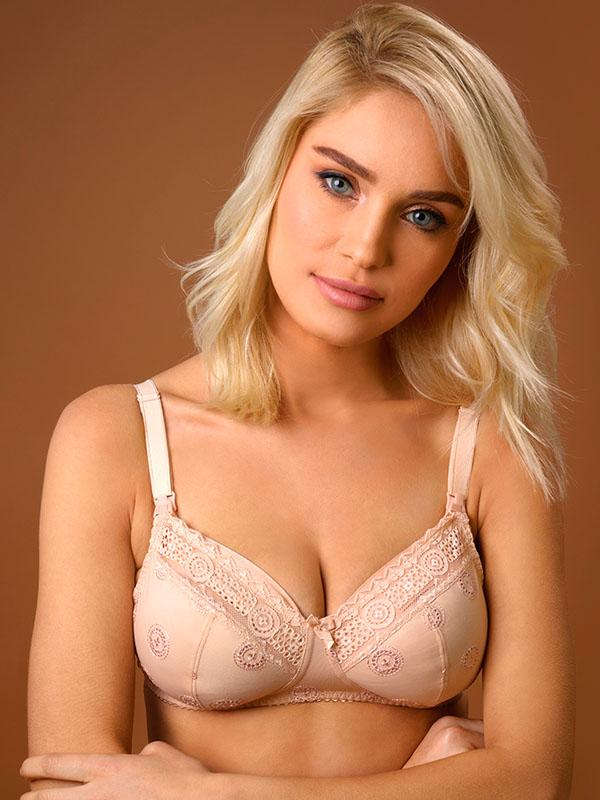 Push Up Bra with Removable Cookies