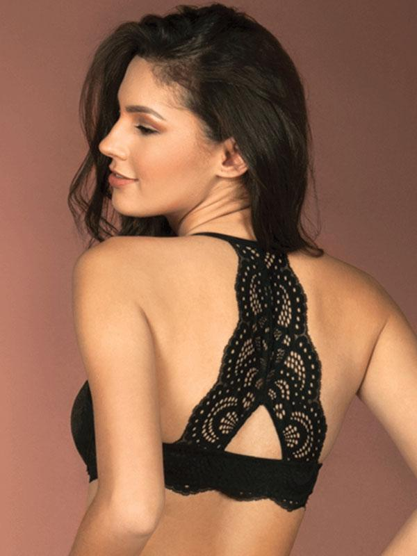 Push-up Bra With Back Design