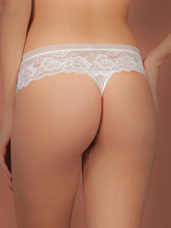 Full Lace Tanga With Wide Band