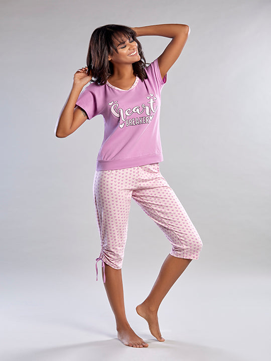 Pajamas Capri Set
