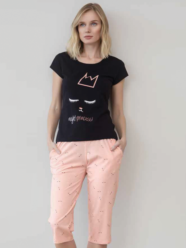 Kitty Shirt & Capri Pants
