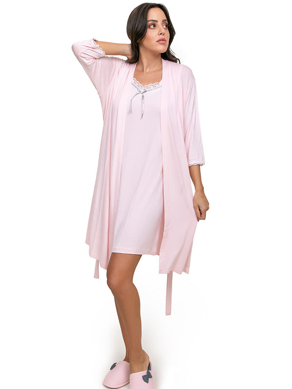 light Dress with Robe