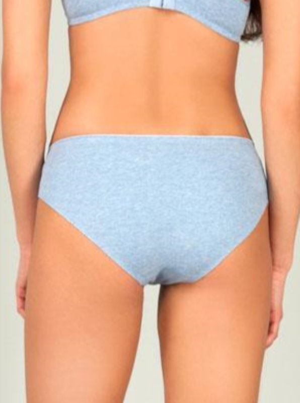 Seamless cotton Bikini bonding technology