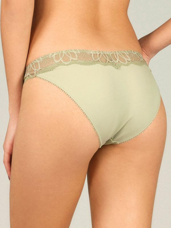 Panty with Lace Waist Band