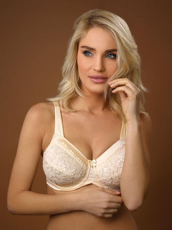 Underwired Bra with Embroidery