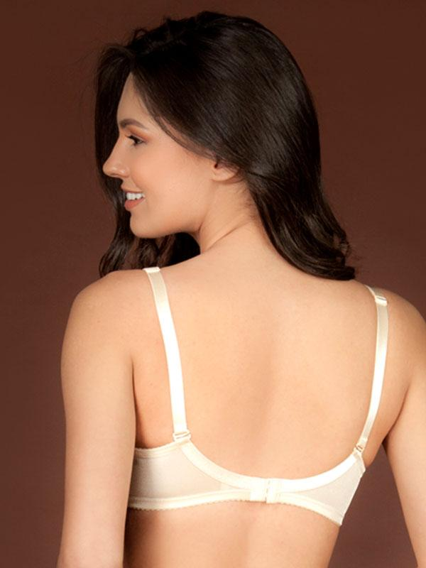 Satin Feel Full Coverage Bra