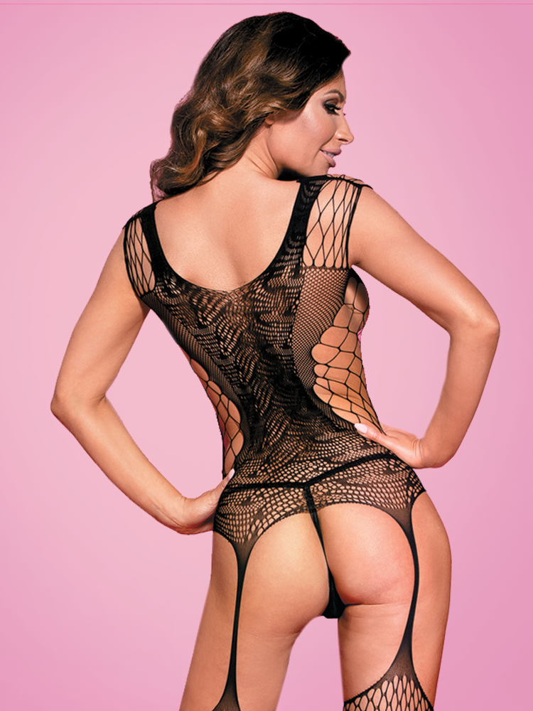 Mixed Fish Net Body stocking