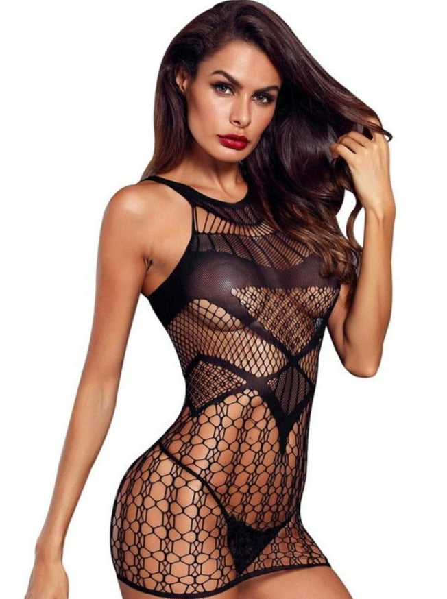 Mesh Stocking Dress