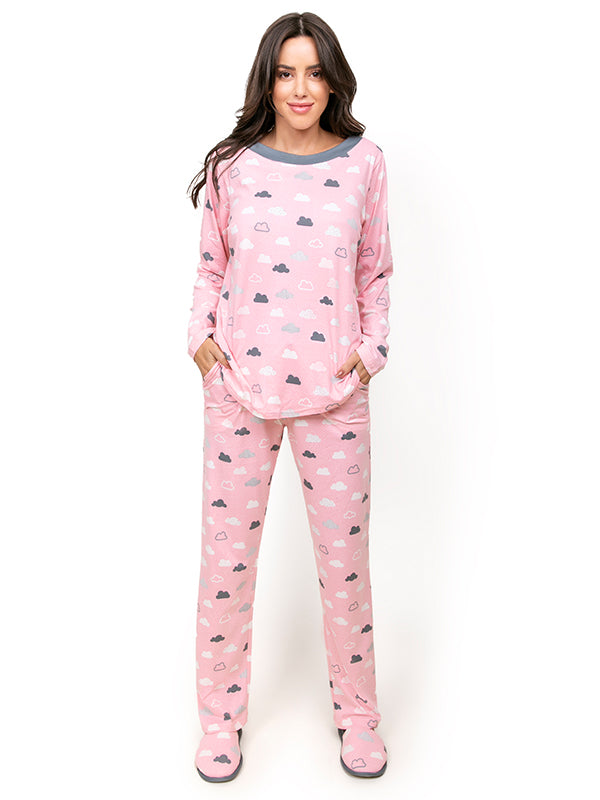 Cloud Print Cute Pj