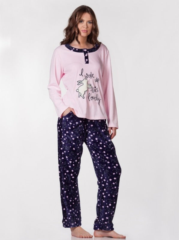 Cute Rabbit Pjs Set