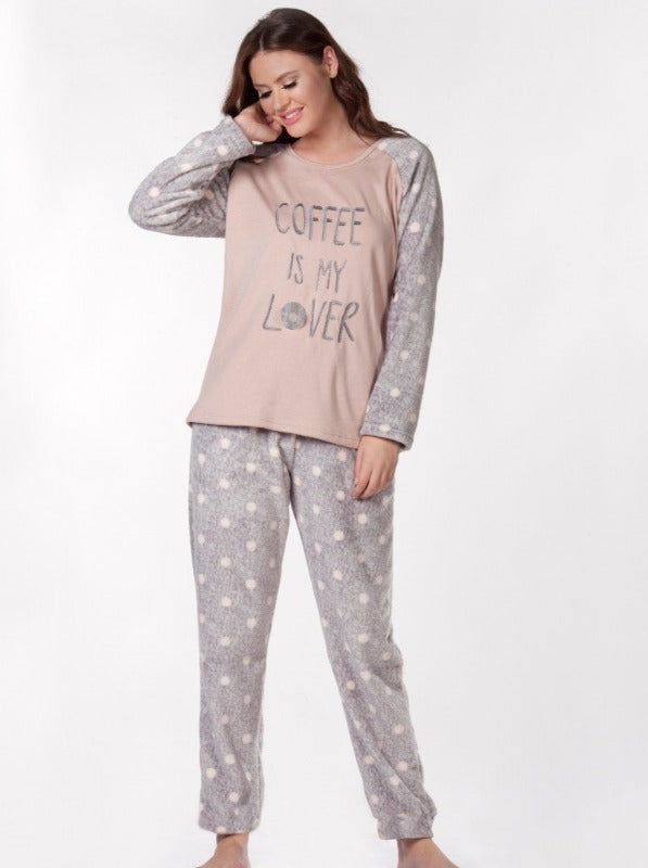 Dotted Pjs Set Woolsoft