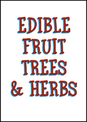 Edible Fruit & Nut Trees and Herbs Range