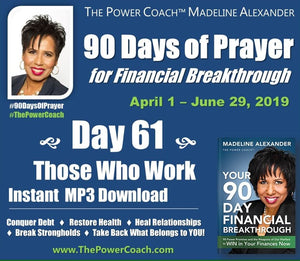 2019: Day 61 - Those Who Work - 90 Days of Prayer