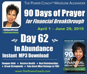 2019: Day 62 - In Abundance - 90 Days of Prayer