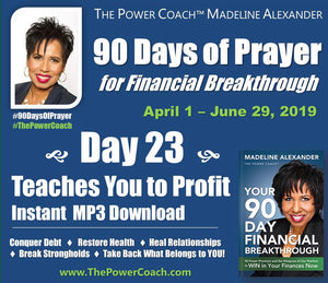 2019: Day 23 - Teaches You to Profit - 90 Days of Prayer
