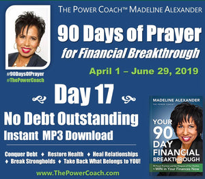2019: Day 17 - No Debt Outstanding - 90 Days of Prayer