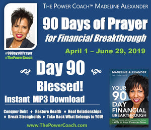Day 90 - Blessed - 90 Days of Prayer